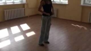 Танцуем сальсу - Шаг назад в сальсе (мастер-класс)