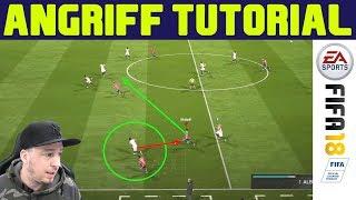 FIFA 18 Angriff Tutorial | Pace Angriff über die Flügel - Tipps & Tricks für die Offensive (deutsch)