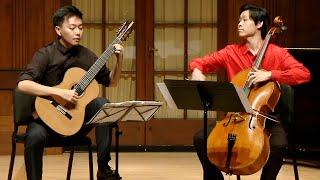 Gnattali Sonata For Cello And Guitar