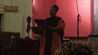 "Lucia Renata Bradford sings ""Pie Jesu"" from Durufle Requiem - 2017"