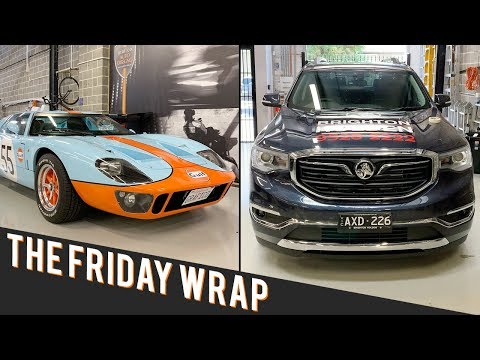 The Friday Wrap! Ford GT40 + New Holden Acadia SUV