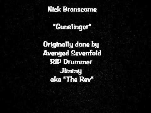nick branscome gunslinger avenged sevenfold acoustic cover youtube. Black Bedroom Furniture Sets. Home Design Ideas