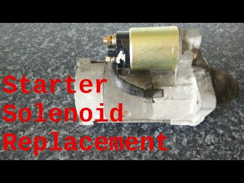 ford ranger starter motor solenoid replacement, m002t87271zt