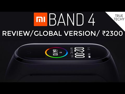 Mi Band 4 Review, Mi Band 4 India Global Version,Mi band 4 Unboxing, XiaoMi Mi Band 4 Price In India