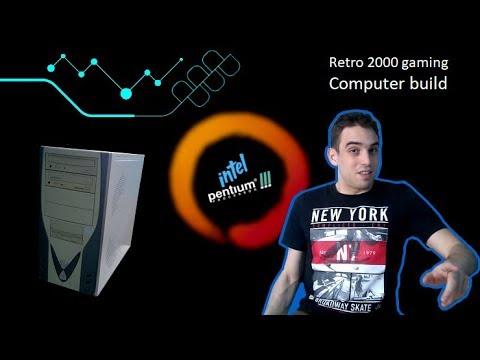 A cpt&tech : Retro 2000 Gaming computer build