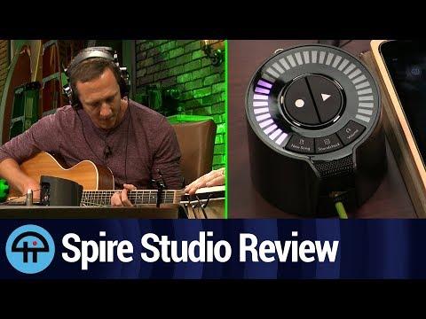 Spire Studio Review: Portable Multitrack Recording