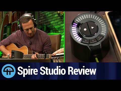 Spire Studio Review: Portable Multitrack Recording