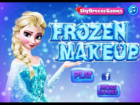 Disney Frozen Princess Elsa Frozen Makeup Fun Online