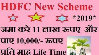 HDFC  MF New scheme , Monthly Pay Out in Hindi ( Prudence Fund ) thumbnail