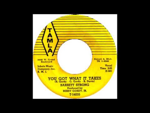 You've Got What It Takes- Barrett Strong '61 Tamla 54035