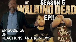 the walking dead reactions and reviews ep58   s06e11 knots untie