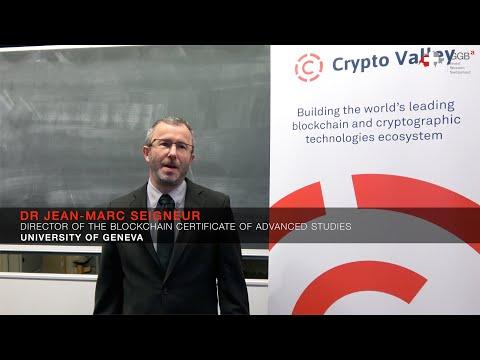 Jean-Marc Seigneur on the University of Geneva's Blockchain Training Program