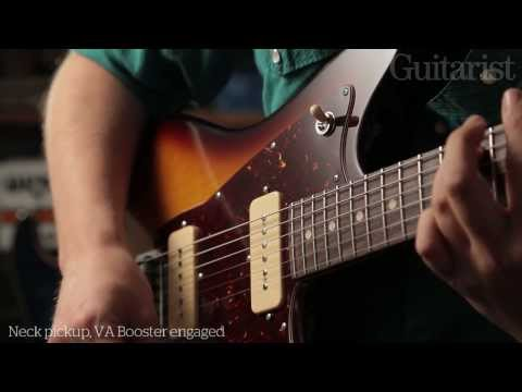 Tom Anderson Hollow Drop Top Classic & Raven electric guitar demo