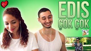 Edis Çok Çok Reaction 🇹🇷 Turkish Song Reaction   Jay & Rengin