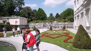 Salzburg Gardens where Sound of Music was filmed