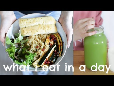 VEGAN What I Eat In A Day | Grocery Shop & Haul