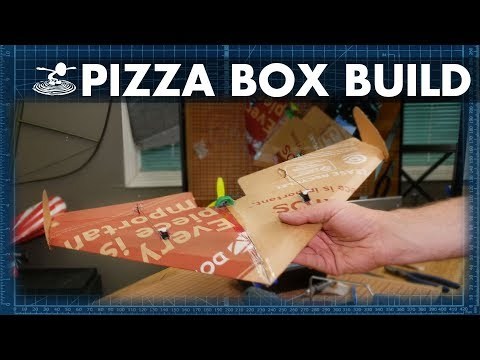 How to Build an RC Plane from a Pizza Box - FT Slice  //  BUILD