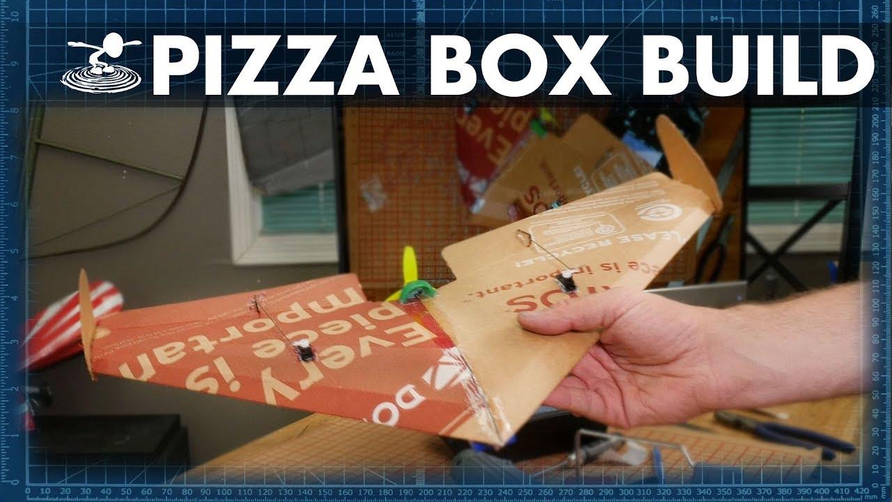 Pizza Box Plane BUILD - FT Slice - FPVTV