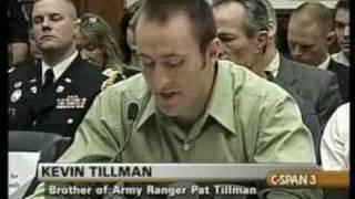 How Pat Tillman Died