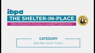 "IBPA Benjamin Franklin Award™ Winner Announced – ""Best New Voice: Fiction"" Category!"