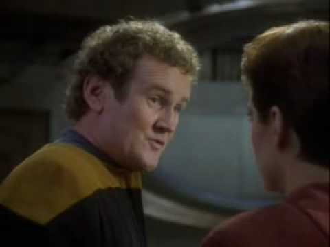Star Trek DS9  Chief O'Brien doesn't know how to talk