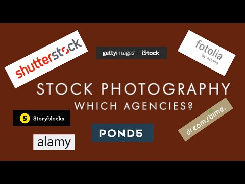 Stock photography sites (which agencies) 2018