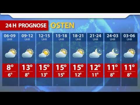 OE24.TV - Das Wetter heute für Österreich (02.05.2017)