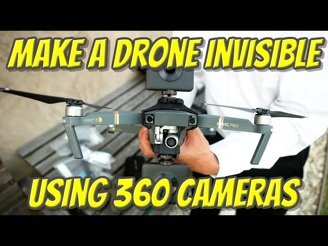 Make a drone INVISIBLE using almost any 360 camera (I used Xiaomi Mijia MI SPHERE 360 camera)