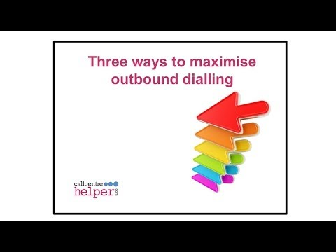 Webinar Replay  Three strategies to maximise outbound dialling