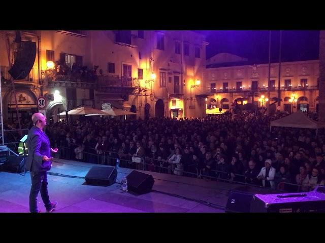 Sasà Salvaggio alla festa di Monreale 2019