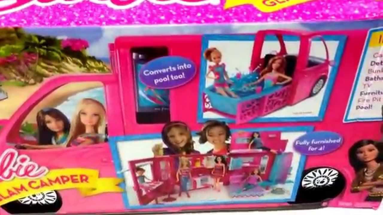 Barbie Quot Glam Camper Quot Huge Toy Car Barbie Toy Set Toy