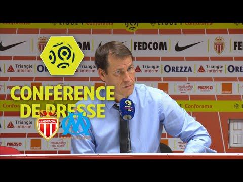 Conférence de presse AS Monaco - Olympique de Marseille (6-1) - Ligue 1 Conforama / 2017-18