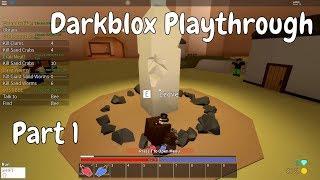 Dark Souls on ROBLOX?!? | Darkblox Playthrough - Part [1] (ROBLOX)