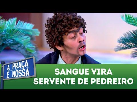Sangue vira servente de pedreiro| A Praça é Nossa (14/06/18)