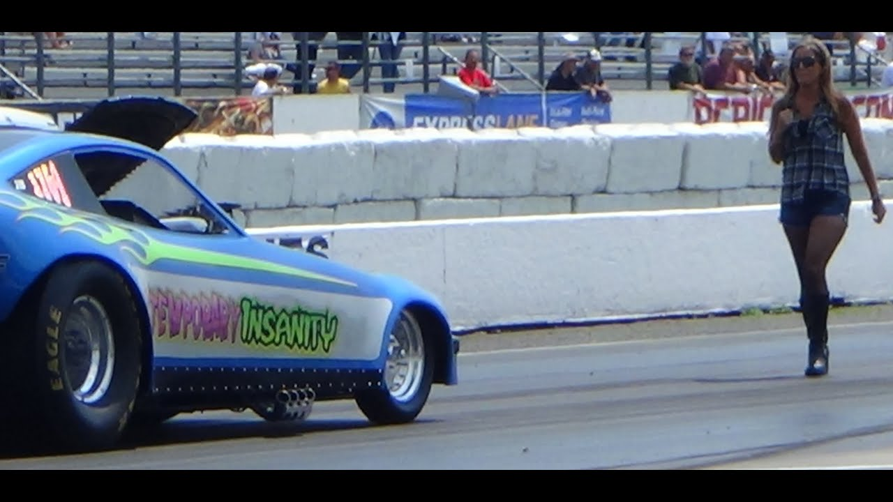 Old Time Drags Funny Cars PT11 Raceway Park etown 7-26-15 - YouTube
