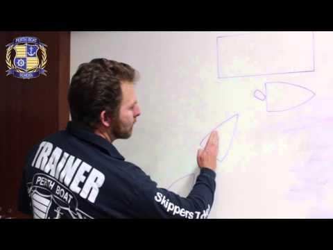 Berthing Lesson 1 | Perth Boat School