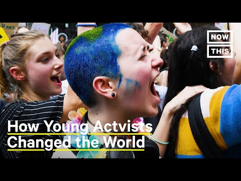 Young Climate Activists Reacted to the Climate Crisis
