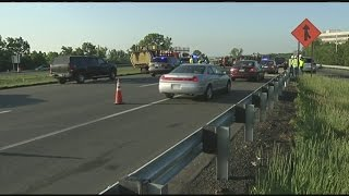 Deadly accident on I-91: Construction worker hit by dump truck