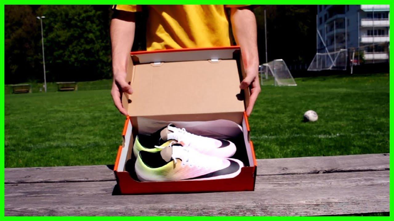 768e551071e980 Nike Mercurial Vapor X Unboxing - YouTube