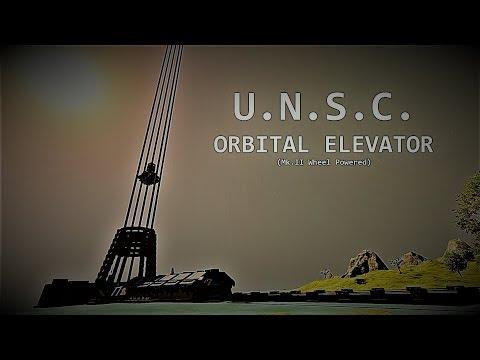 SE-lf made: UNSC Orbital Elevator Mk.II |