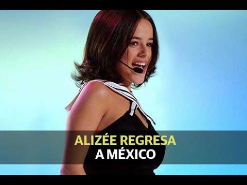 Alizée regresa a México