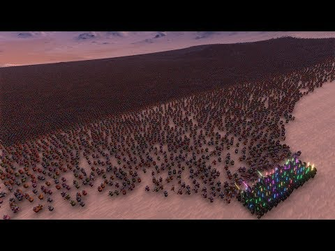 300 JEDI vs 50.000 ROMANS - Ultimate Epic Battle Simulator
