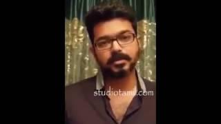 Vijay Voice for Jallikattu Protest | Vijay Support Jallikattu