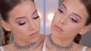 Pink Monochromatic Makeup Trend Tutorial | LUSTRELUX