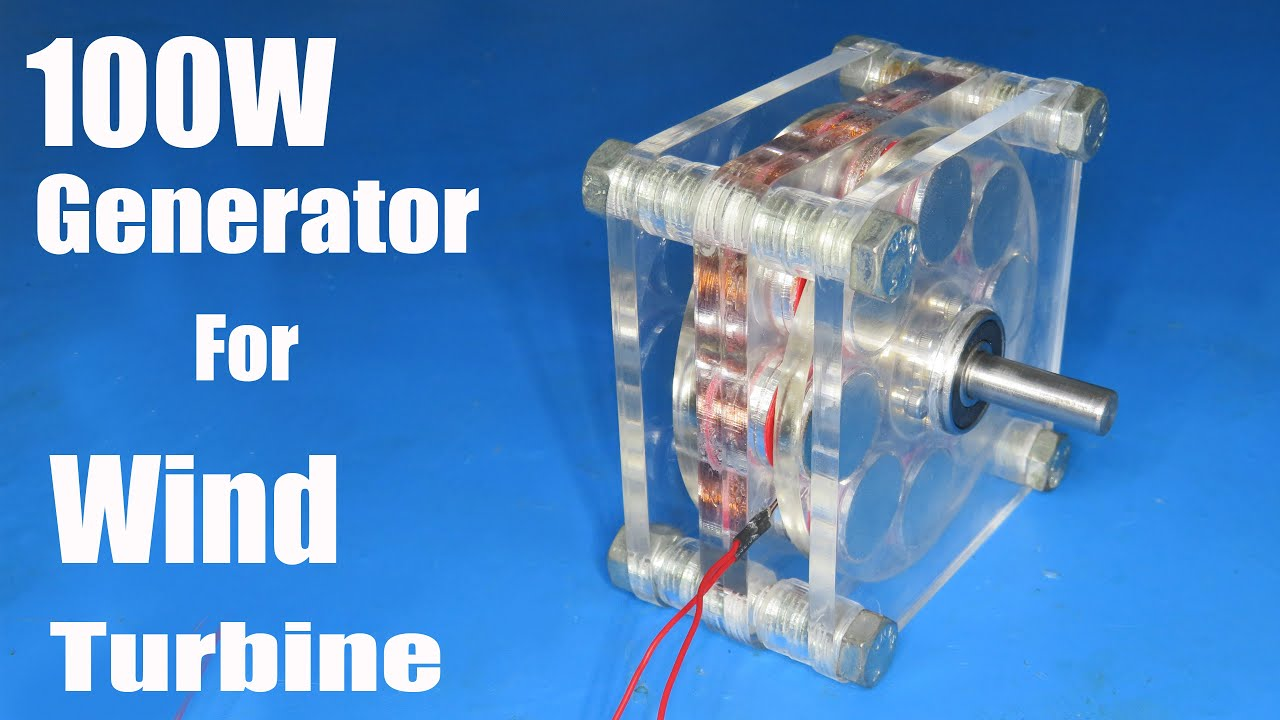 How to make Low RPM generator for wind turbine