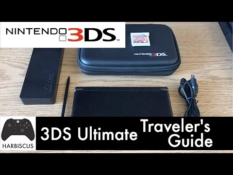 Nintendo 3DS - Ultimate Traveler's Guide (Awesome Tips and Products!)