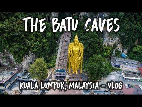 EXPLORING THE BATU CAVES IN KUALA LUMPUR (Malaysia Travel Vlog)