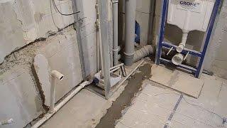 Монтаж сложного короба ч.1(В этом видео показано с чего начать чтобы собрать металлический каркас для сложного короба в ванной комнат..., 2015-04-15T17:46:22.000Z)