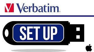 Verbatim USB flash drive Set Up Guide for Mac | MacBook Pro, iMac, Mac mini, Mac Pro, MacBook Air