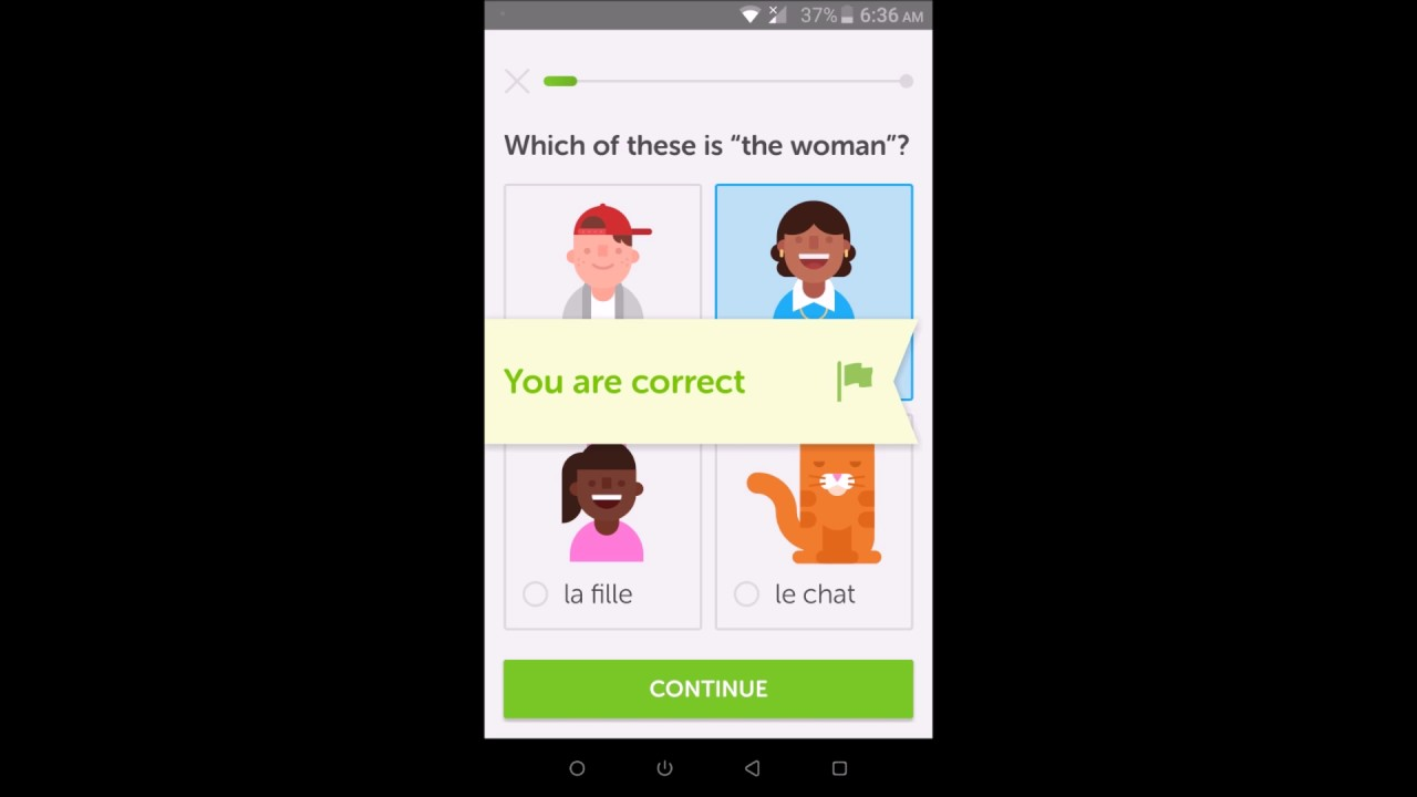 Learn Foreign Languages easily - Duolingo app review